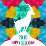 Bonne année de la Chèvre 2015 !