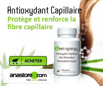 Bannière Antioxydant capillaire