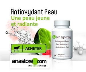 Bannière Antioxydant Peau