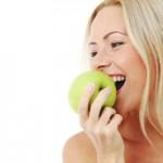 alimentation beauté : une pomme