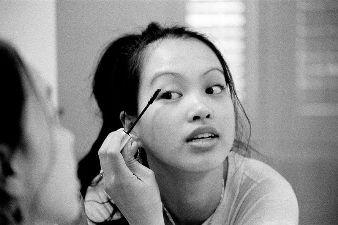 Techniques de maquillage yeux asiatique