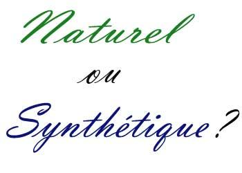 Produits cosmétiques naturels et synthétiques : Comparaison
