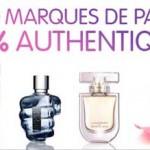 Photo illustrant des parfums de marque pas cher