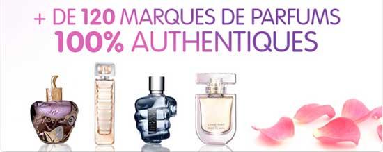 Où trouver des parfums de marque pas cher ?