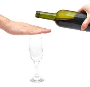 Les rides et l'alcool